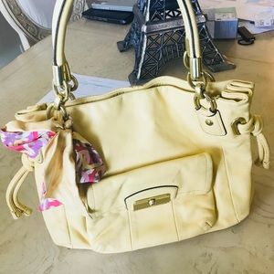 Coach Kristin solid bags and handbags for woman's